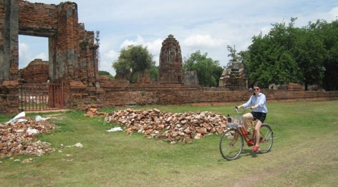 Ztracone blaski byłej stolicy królewskiej – Ayutthaya