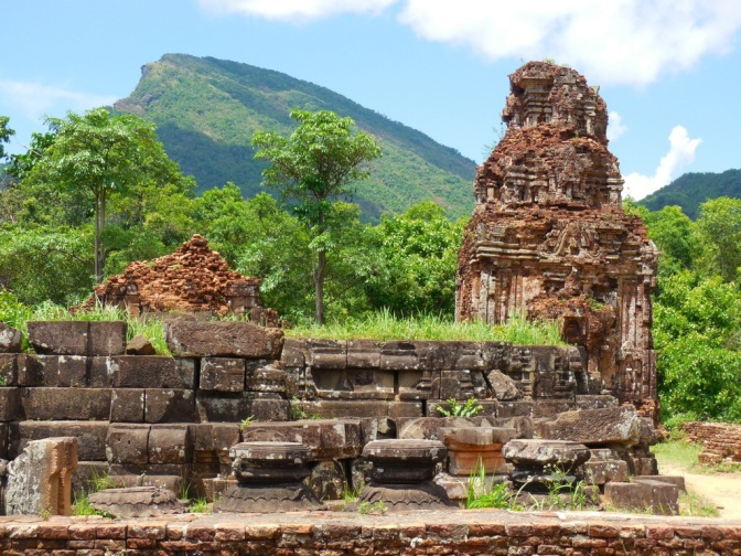 My Son niby wietnamski Angkor Wat