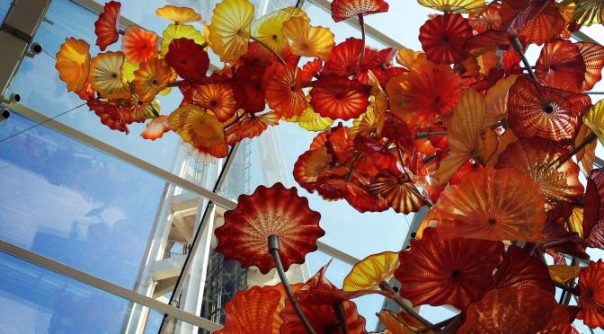 Obowiązkowe atrakcje w Seattle: Space Needle oraz Chihuly Garden & Glass