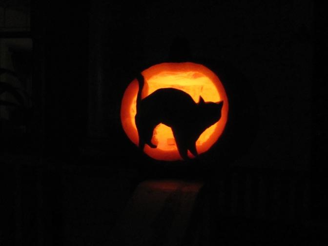 Przygotowania do Halloweenu