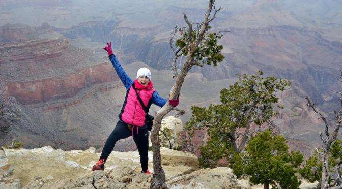 Mglisto w Grand Canyon