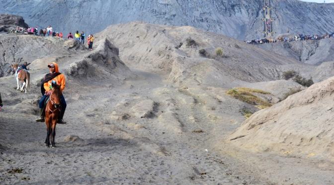 Wulkanicznie pod Mount Bromo