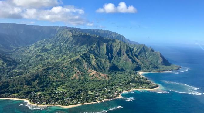 Zielona wyspa Kauai